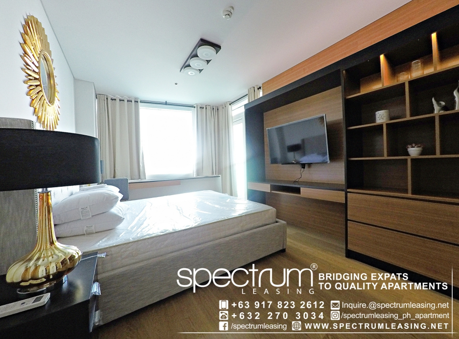 Compact Two Bedroom Park Terraces Point Tower Makati
